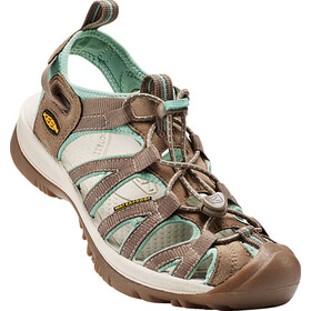 Keen Whisper Sandals Women Shitake/Malachite